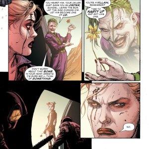 suicide-squad, Joker, Harley Quinn, Gary Frank