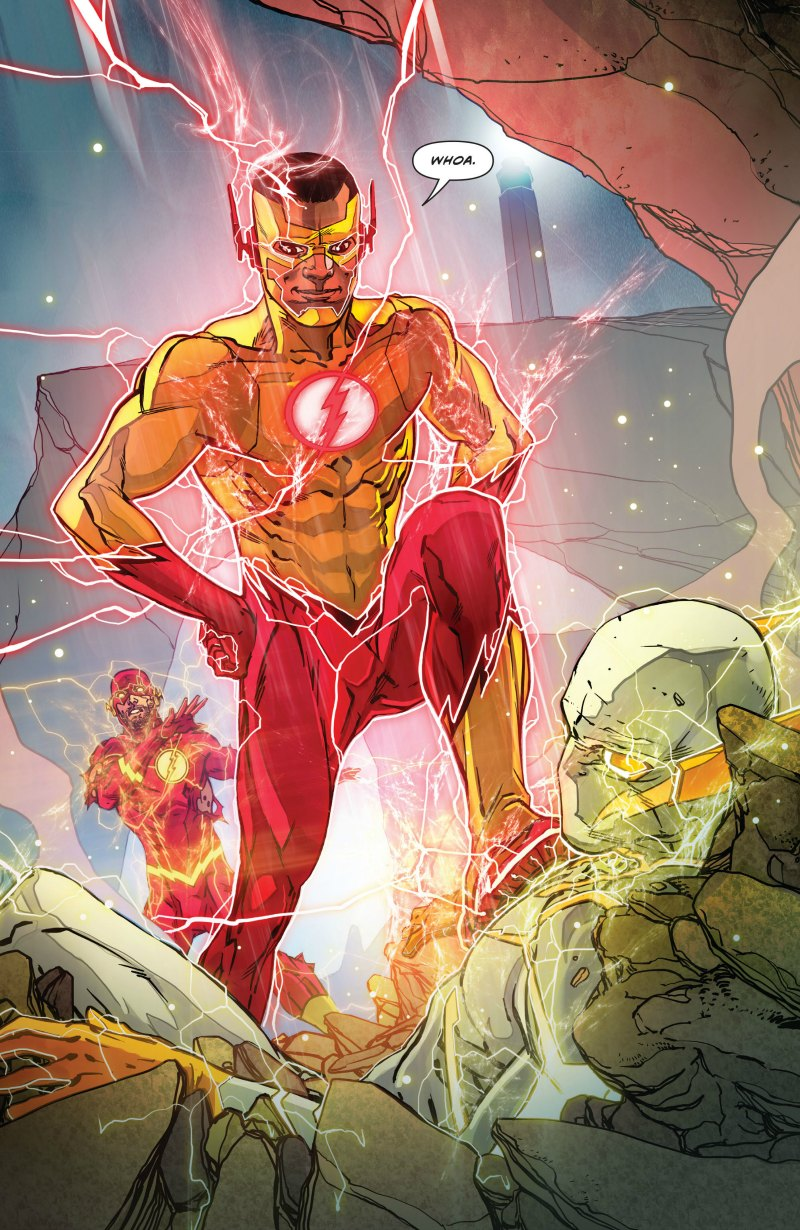 The Flash 8 Dc Comics Rebirth Spoilers New