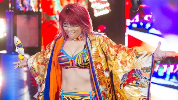 Asuka headed to WWE Raw roster