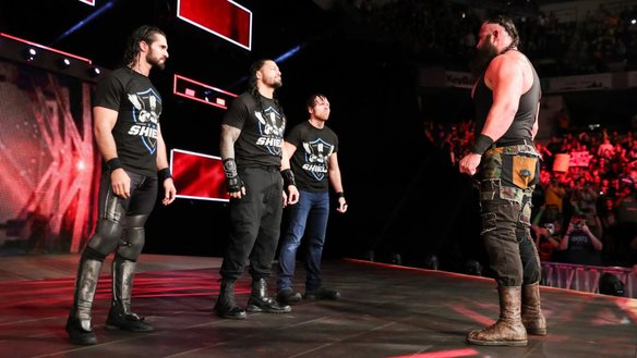 The shield returns at last plus ponderings from wwe raw primary ignition - Braun strowman theme ...