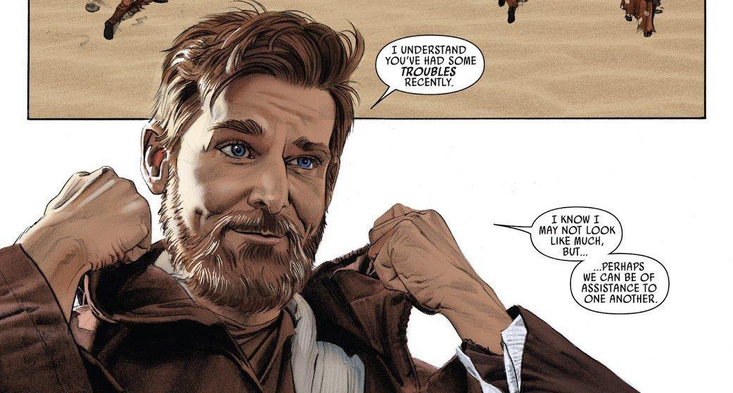 Panels of Awesomeness: Obi-Wan Kenobi by Mike Mayhew – Primary ...
