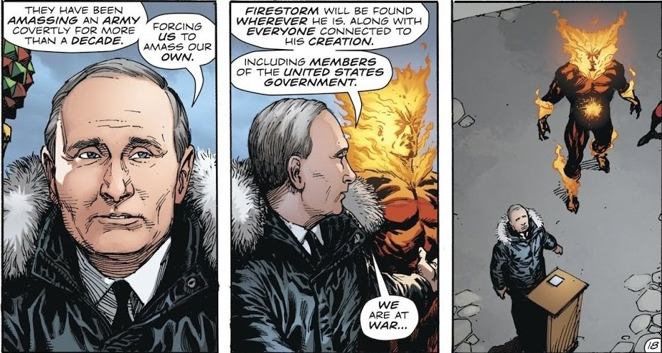Panels Of Awesomeness Putin And Superman Primary Ignition