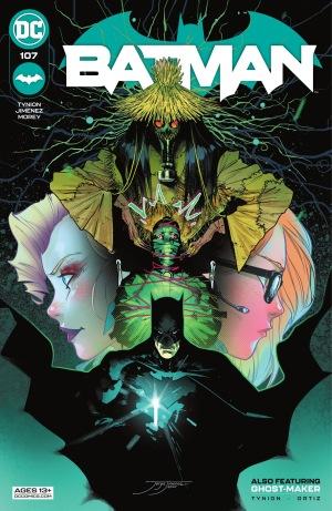 Batman 107, cover, Jorge Jimenez, 2021