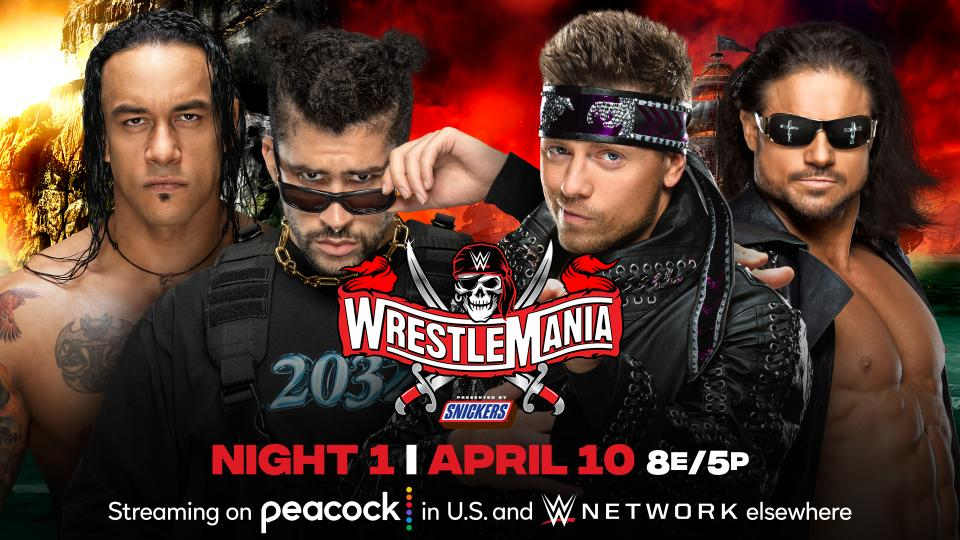 Wrestlemania 37, Damien Priest, Bad Bunny, The Miz, John Morrison