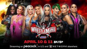 Wrestlemania 37, Lana, Naomi, Dana Brooke, Mandy Rose, Liv Morgan, Ruby Riott, Natalya, Tamina