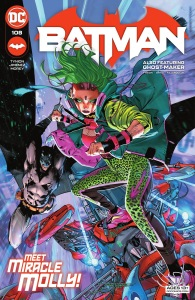 Batman 108, cover, 2021, Jorge Jimenez