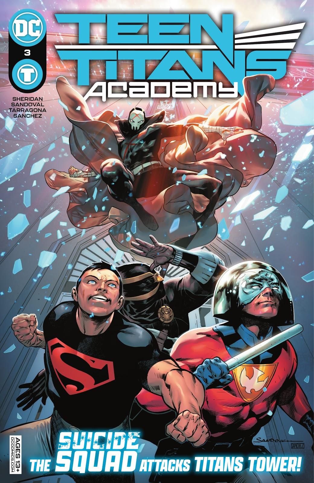 Teen Titans Academy 3, cover, 2021, Rafa Sandoval