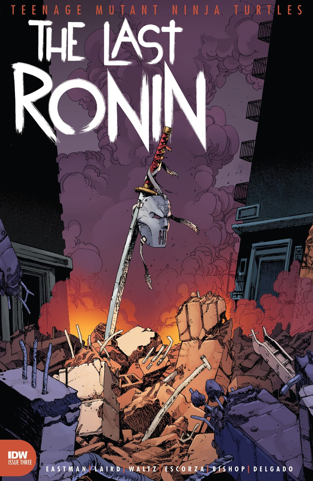 TMNT The Last Ronin 3, cover, 2021
