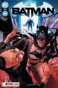 Batman 109, cover, 2021, Jorge Jimenez