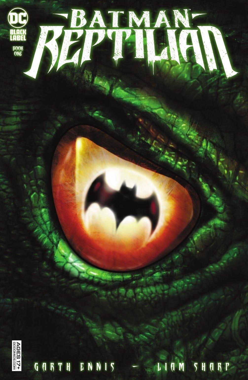 Batman Reptilian 1 cover, 2021, Liam Sharp