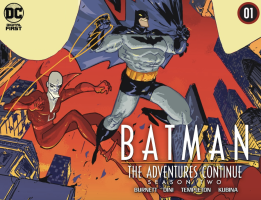 Batman the Adventures Cotinue Season Two, cover, 2021, Riley Rossmo