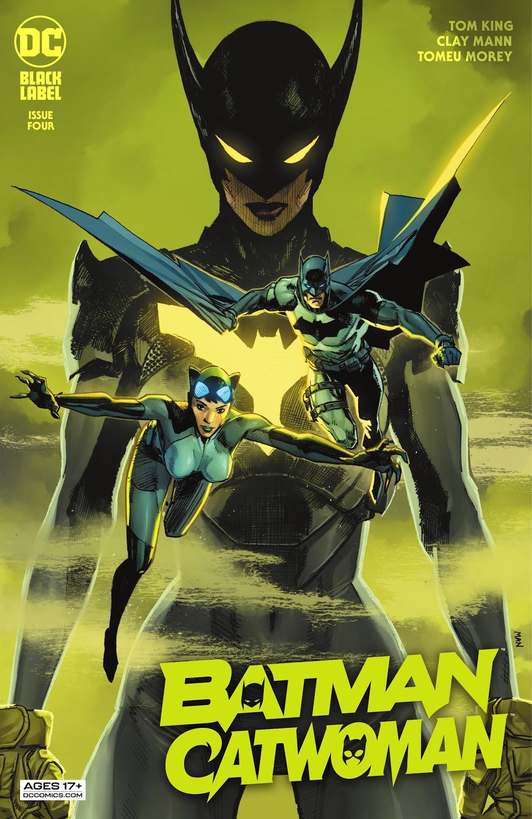 Batman:Catwoman 5, cover, 2021, Clay Mann