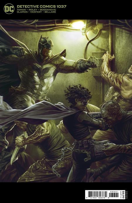 Detective Comics 1037, Lee Bermejo variant cover, 2021