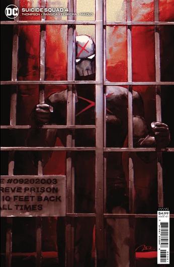 Suicide Squad 4, cover, 2021, Gerard Parel variant