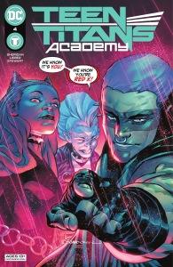 Teen Titans Academy 4, cover, 2021, Rafa Sandoval