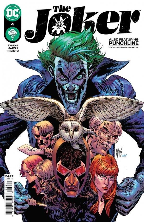 The Joker 4, cover, 2021, Guillem March