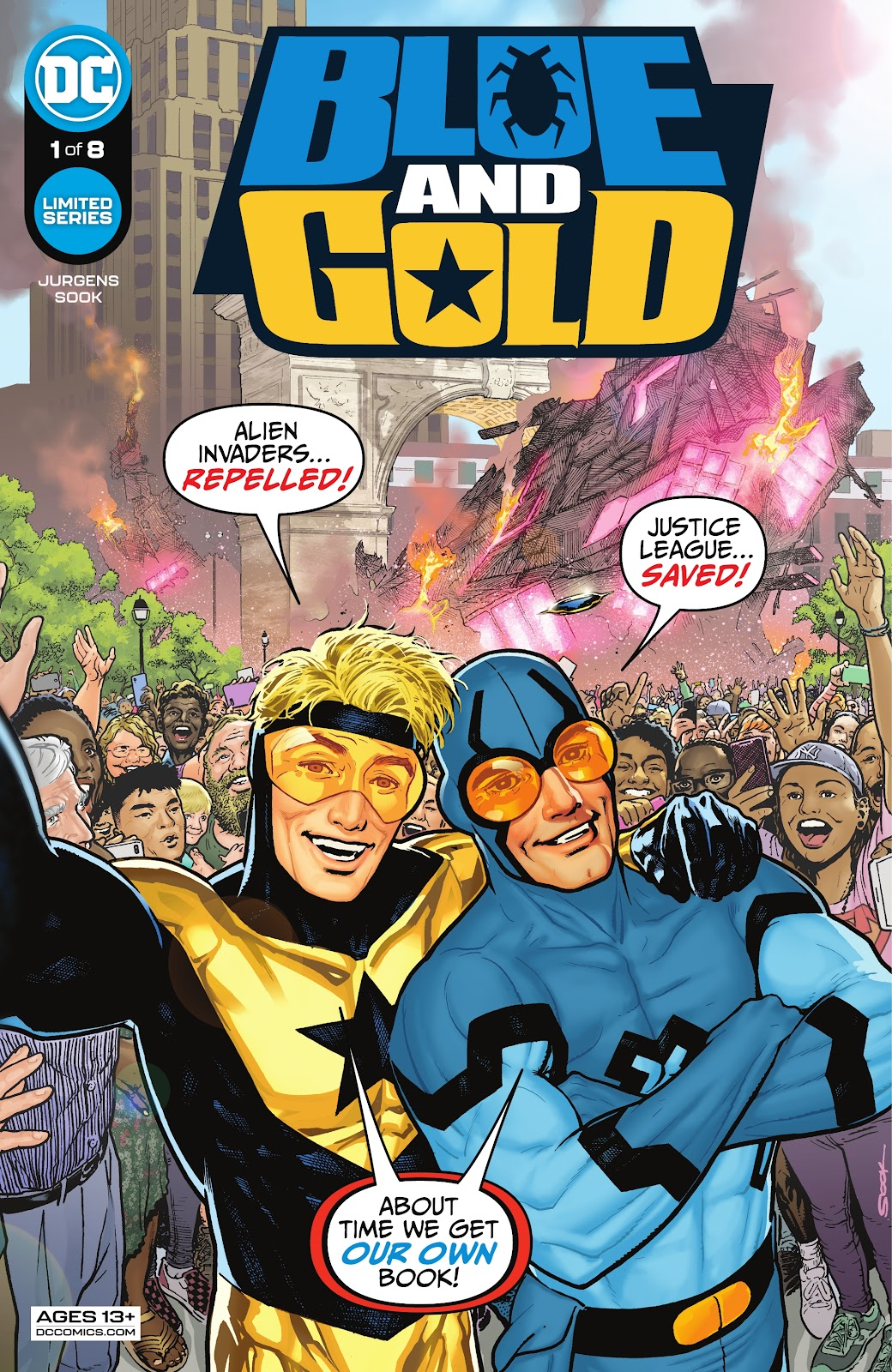 Blue and Gold 1, cover, 2021, Ryan Sook