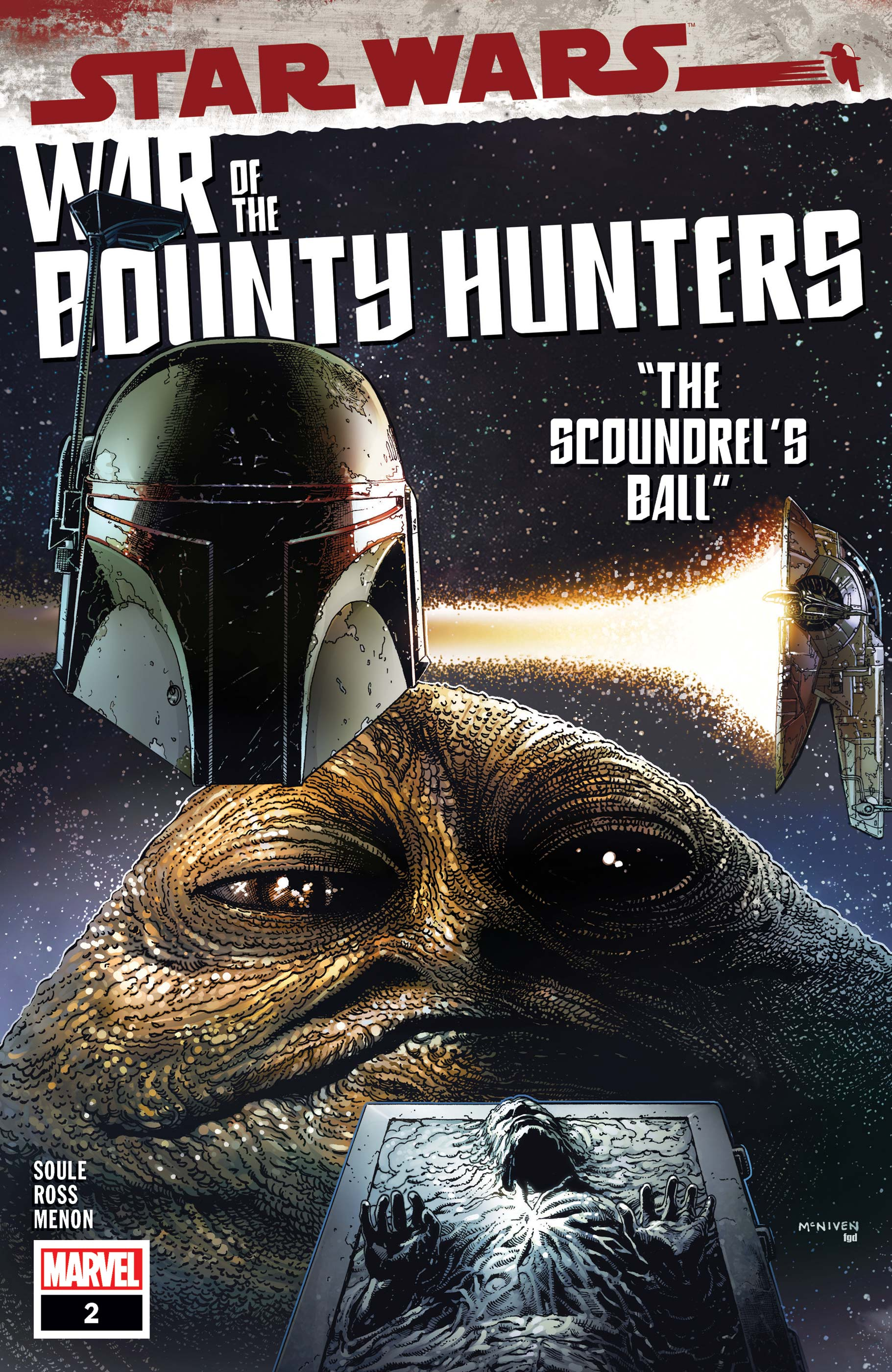 Star Wars War of the Bounty Hunters 2, cover, 2021, Steve McNiven