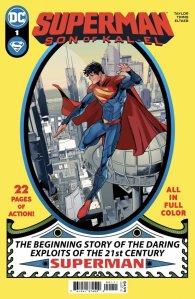 Superman Son of Kal-El 1, cover, 2021