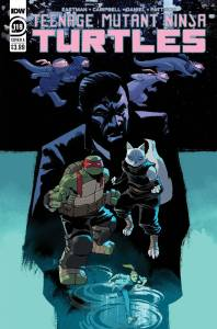Teenage Mutant Ninja Turtles 119, Nelson Daniel, cover, 2021
