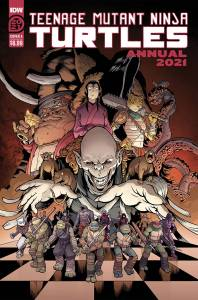 TMNT Annual 2021, cover, Casey Maloney