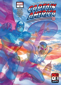 United States of Captain America 1, cover, 2021, Alex Ross