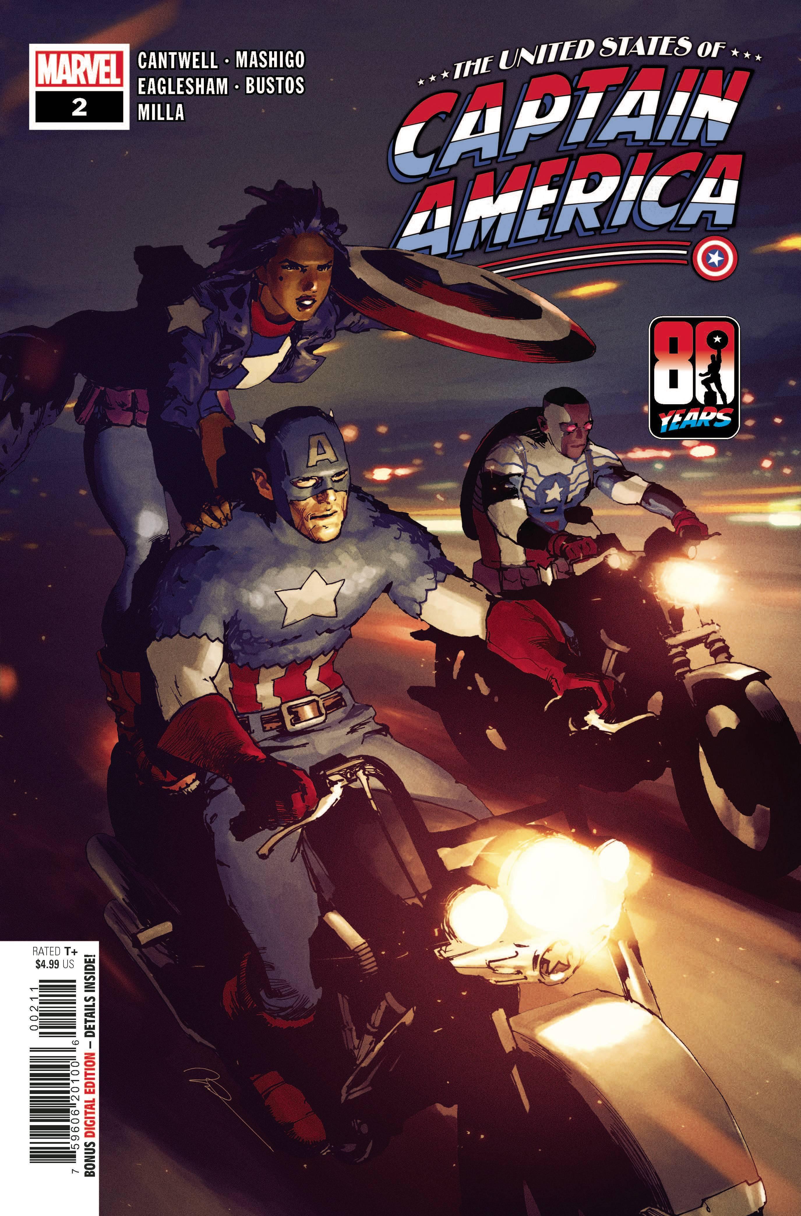 United States of Captain America 2, cover, 2021, Gerard Parel