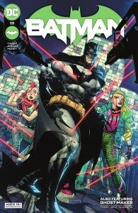 Batman 111, cover, 2021, Jorge Jimenez