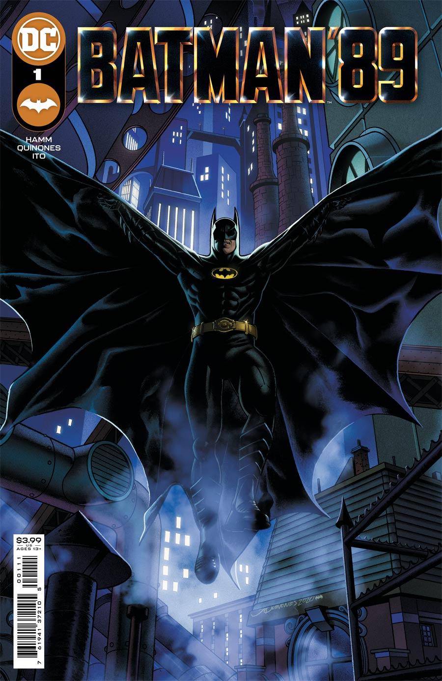 Batman 89 1, cover, 2021, Joe Quinones