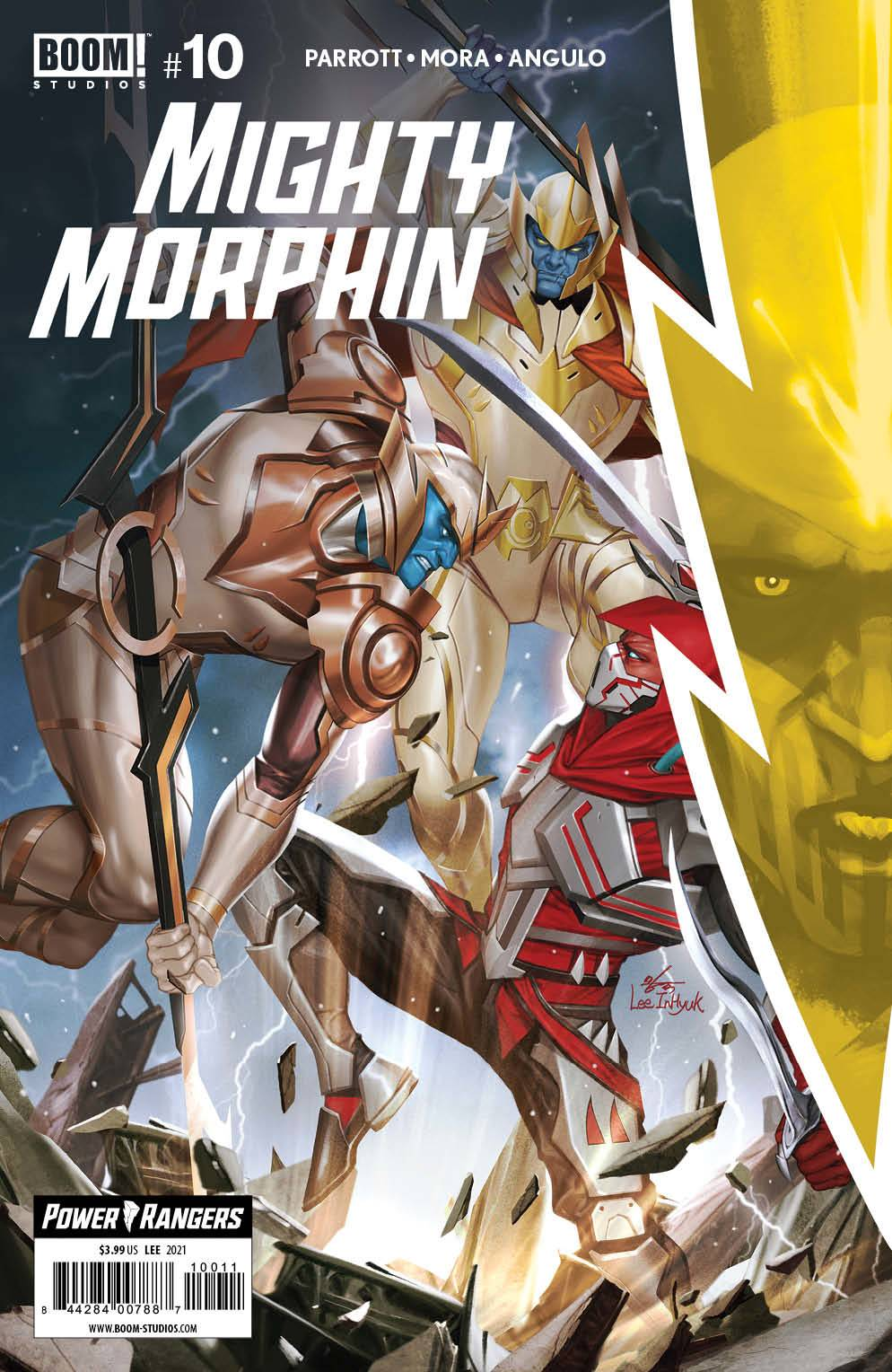 Mighty Morphin 10, cover, 2021, InHyuk Lee
