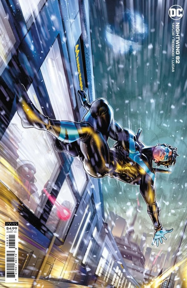 Nightwing 82, variant cover, 2021, Jamal Campbell
