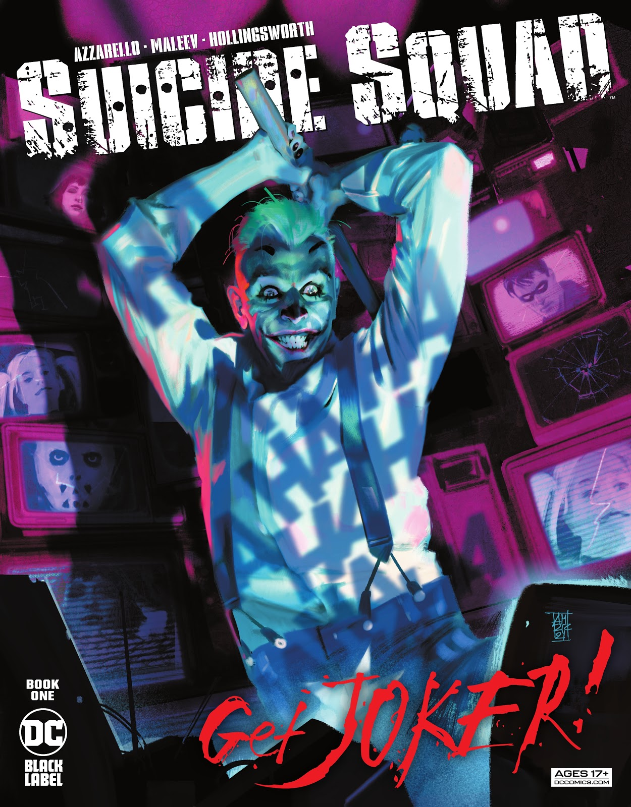 Suicide Squad Get Joker 1, cover, 2021, Alex Maleev