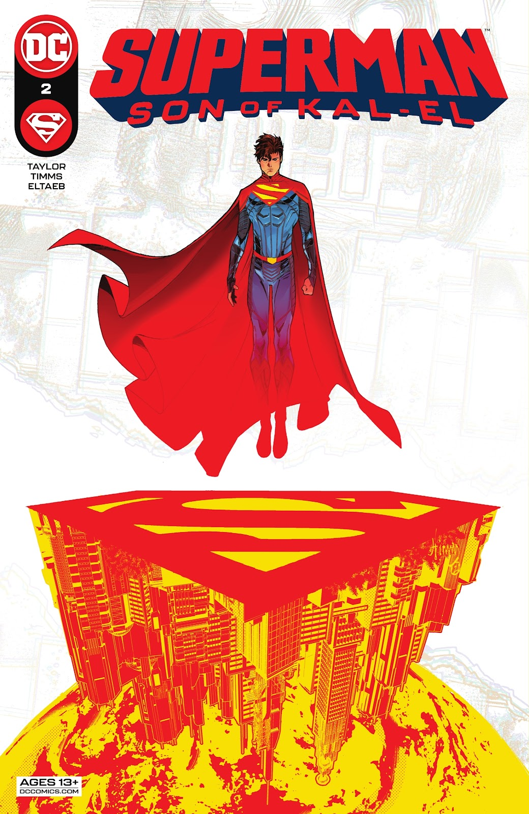 Superman Son of Kal-El 2, cover, John Timms