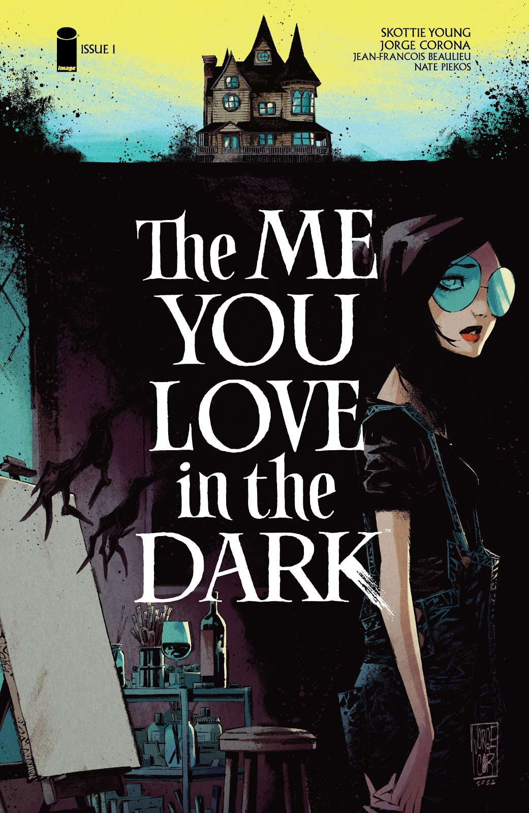 The Me You Love in the Dark 1, cover, 2021, Jorge Corona