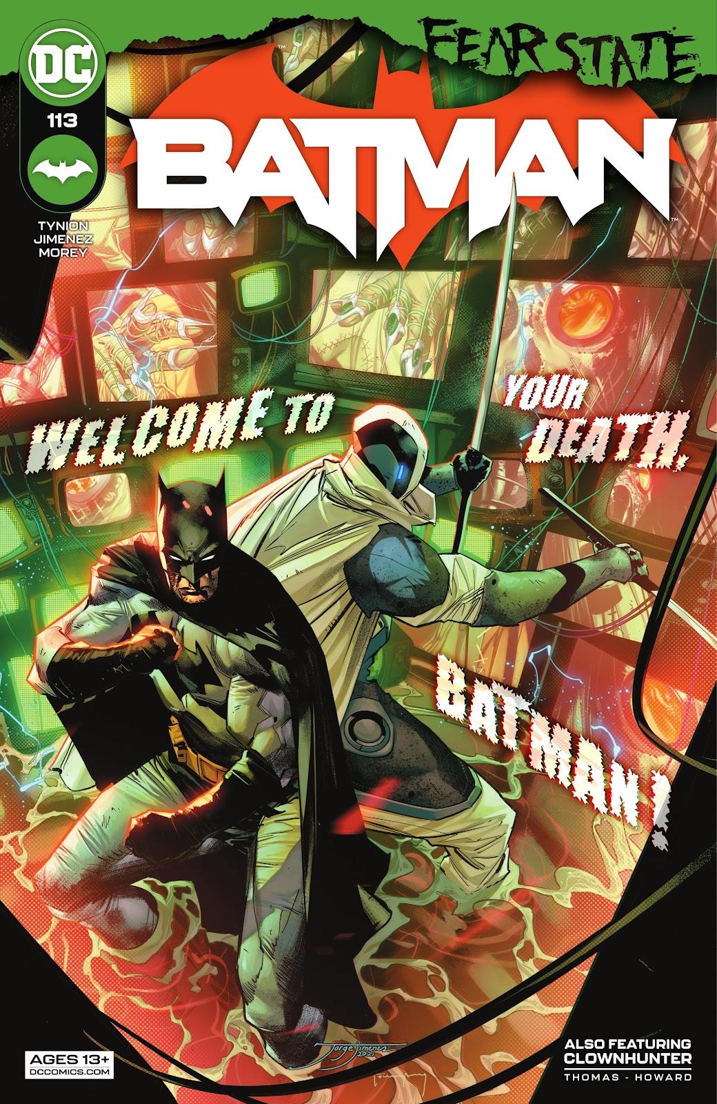 Batman 113, cover, 2021, Jorge Jimenez