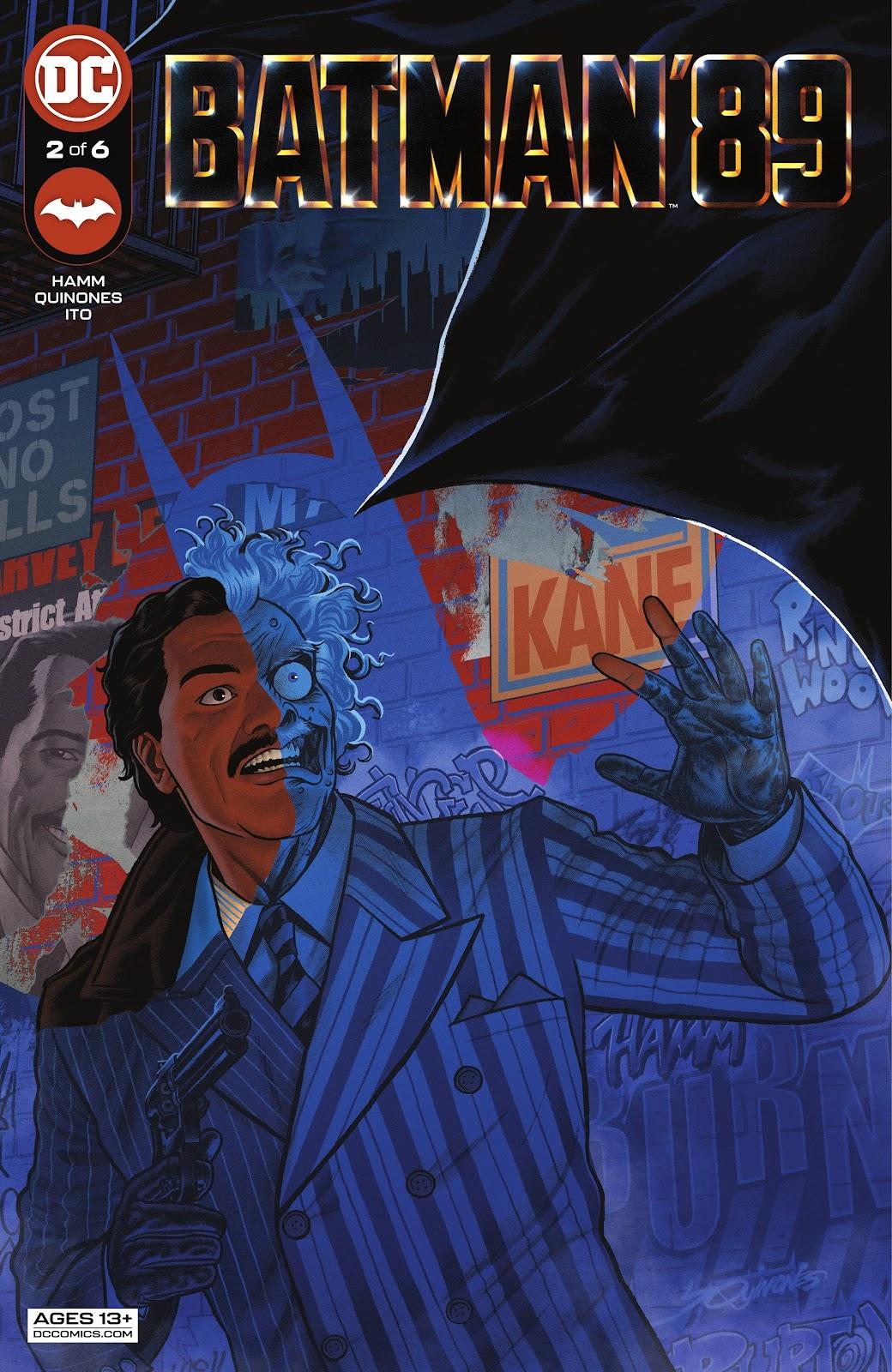 Batman 89 2, cover, 2021, Joe Quinones