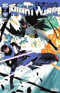 Nightwing 84, 2021, cover, Bruno Redondo