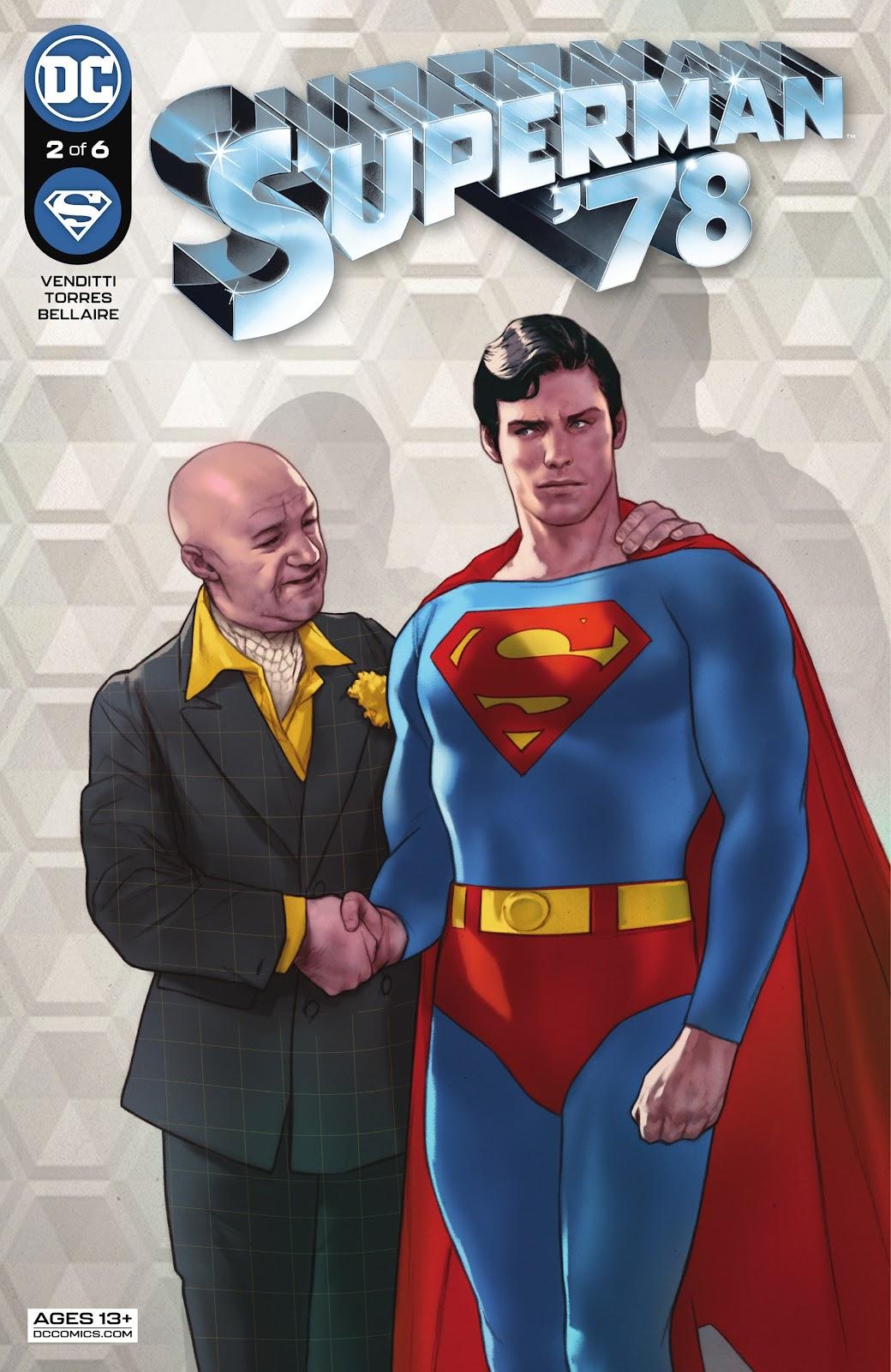 Superman 78 2, cover, 2021, Ben Oliver