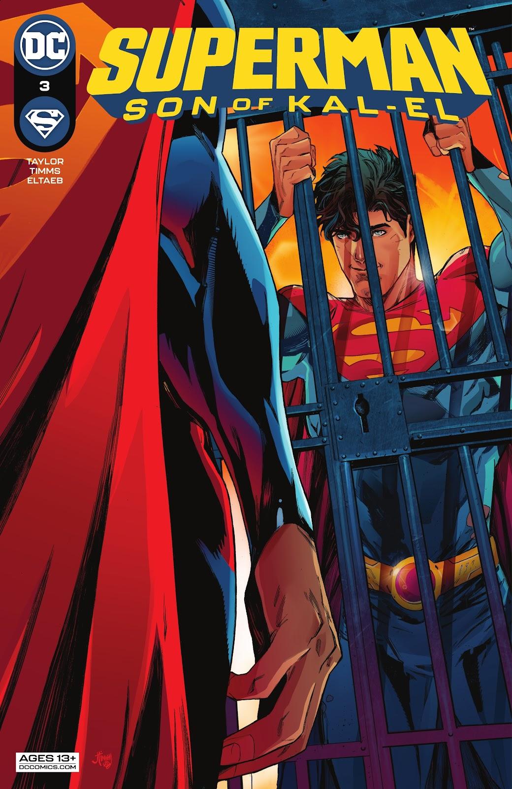 Superman Son of Kal-El 2, cover, 2021, John Timms