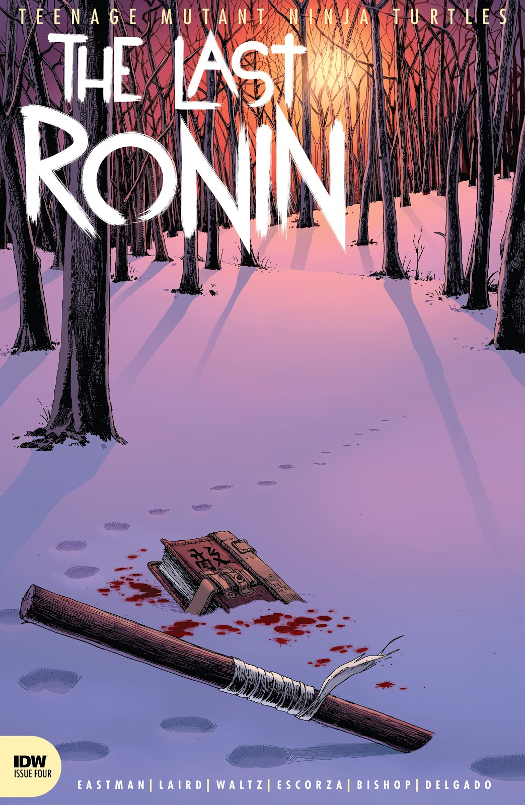 TMNT The Last Ronin 4, cover, 2021