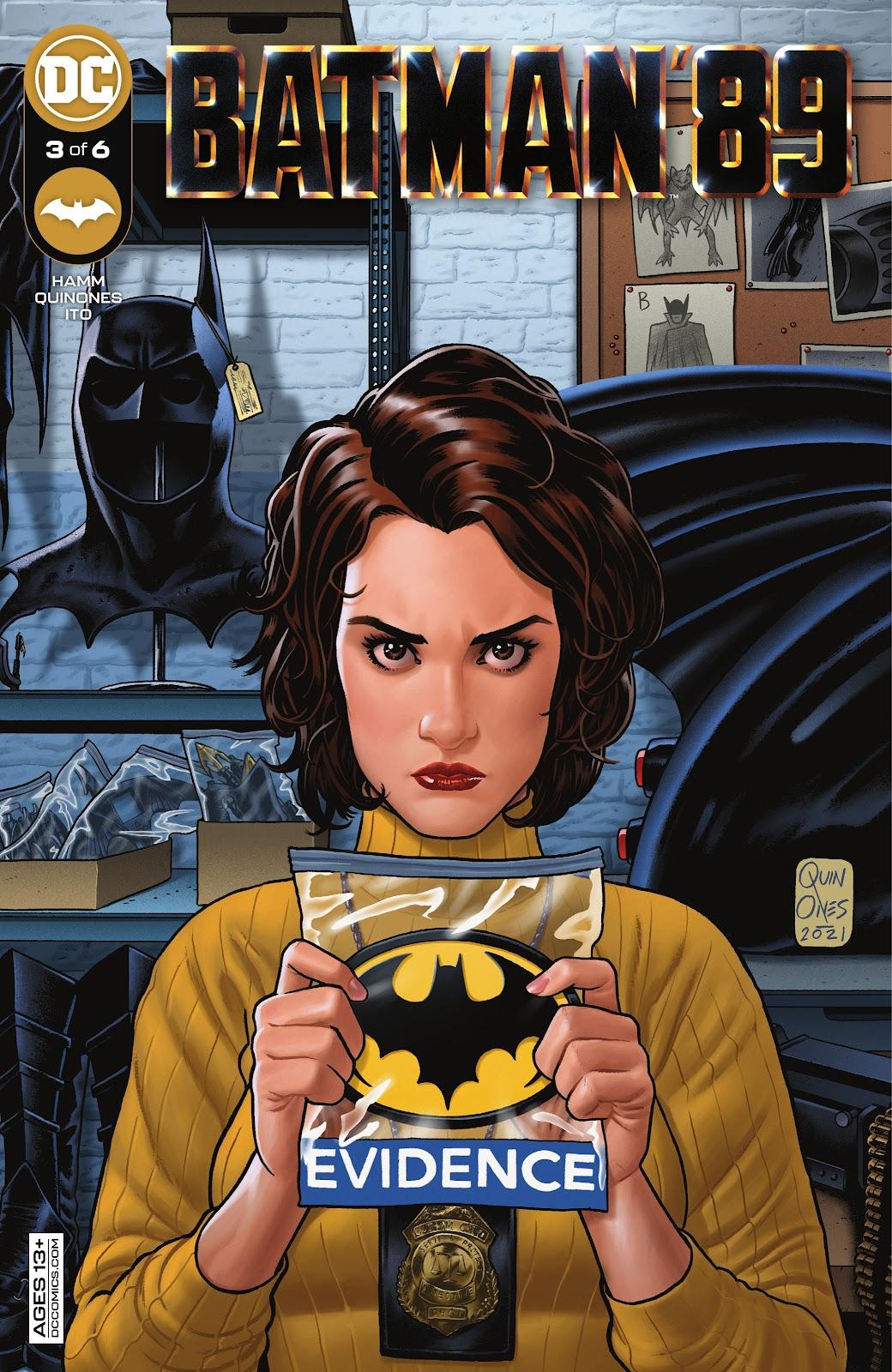 Batman 89 3, cover, 2021, Joe Quinones