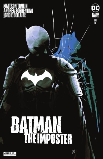 Batman the Imposter 1, cover, 2021, Andrea Sorrentino