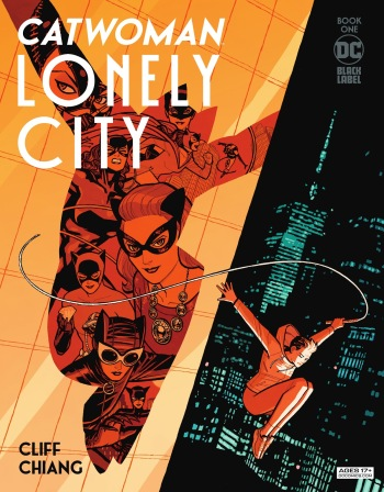 Catwoman Lonely City 1, cover, 2021, Cliff Chiang