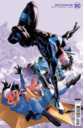 Nightwing 85, cover, 2021, Jamal Campbell