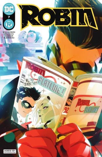 Robin 7, cover, 2021, Simone di Meo
