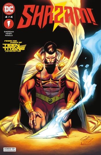 Shazam 4, cover, 2021, Clayton Henry