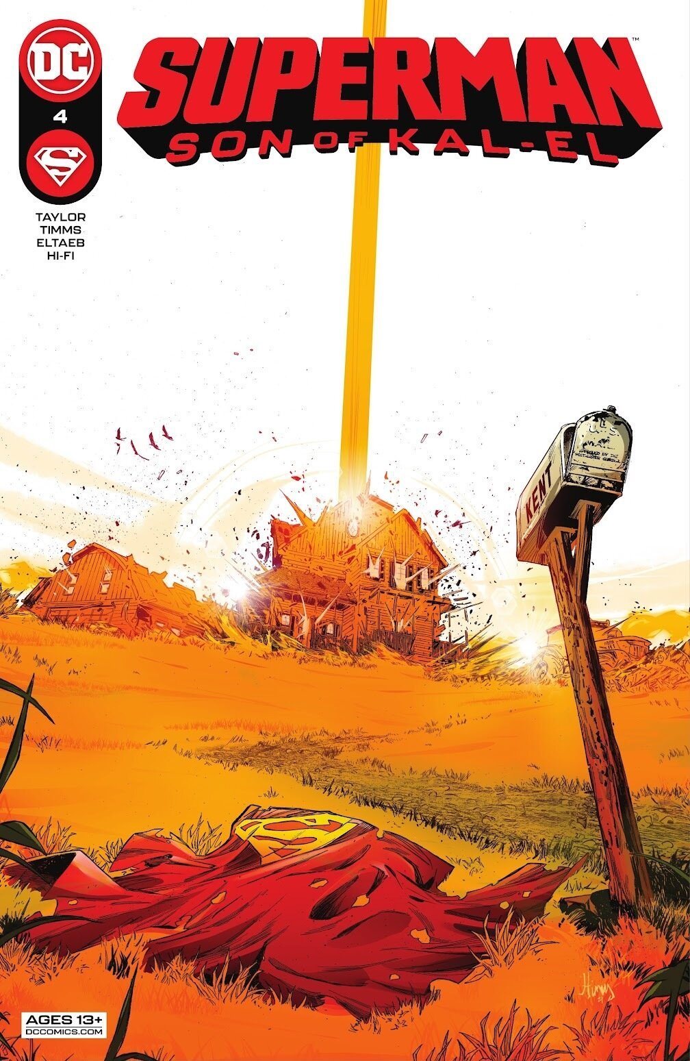 Superman Son of Kal-El 4, cover, 2021, John Timms